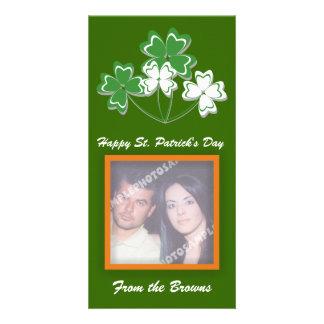 Happy St Patrick s Day Photo Cards