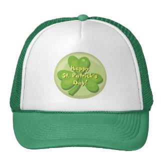 Happy St. Patrick´s Day Shamrock Mesh Hats