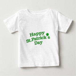 Happy St. Patrick´s Day Typographic Design Infant T-shirt