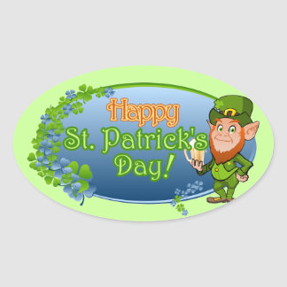 Happy St Patrick s Day Ver 2 Sticker