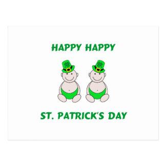 Happy St. PatrickÕs Day Postcard