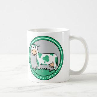 Happy St Patrick's Cow Mugs