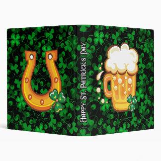 Happy St. Patrick's Day 1 Binder Options