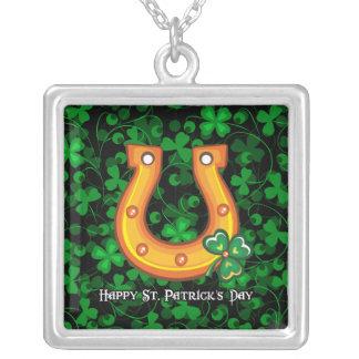 Happy St. Patrick's Day 1 Necklace
