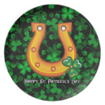 Happy St. Patrick's Day 1 Plate