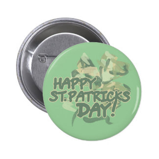 Happy St Patricks Day 2 Inch Round Button