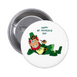 Happy St. Patrick's Day 2 Inch Round Button