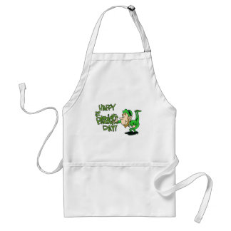Happy St. Patrick's Day Adult Apron