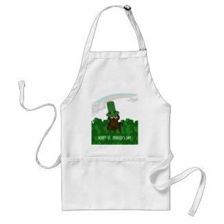 Happy St. Patricks Day Apron apron