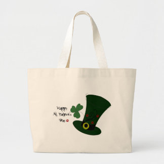 Happy St. Patrick's Day Canvas Bags