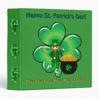 Happy St. Patrick's Day Binder