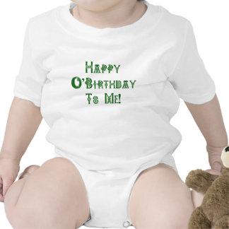 Happy St Patricks Day Birthday to Me Tshirt