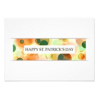 happy st patricks day (bokeh) invitations