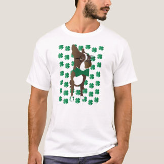 Happy St. Patrick's Day Boston Terrier T-Shirt