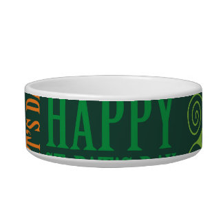 Happy St. Patrick's Day Bowl