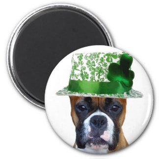 Happy St. Patrick's Day Boxer magnet