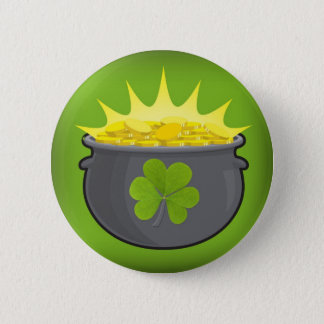 Happy St. Patrick's Day! Button
