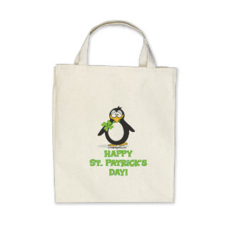 Happy St. Patrick's Day Canvas Bag