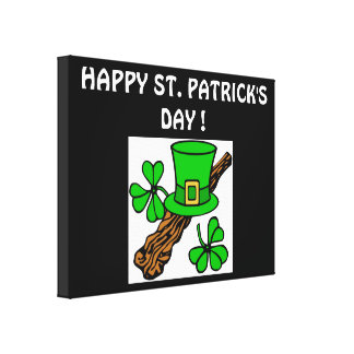 HAPPY ST.PATRICK'S DAY CANVAS PRINT