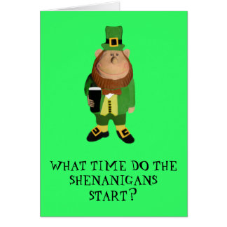 Happy St.Patrick's Day Card