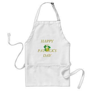 HAPPY ST. PATRICK'S DAY CHEF APRON