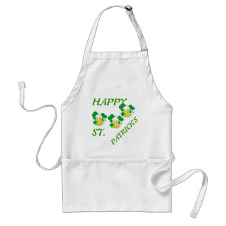 HAPPY ST. PATRICK'S DAY CHEFS APRON