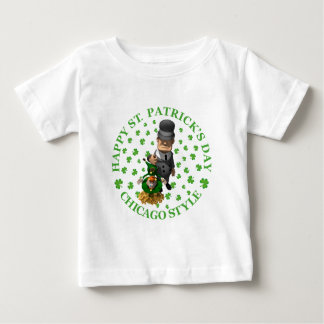 Happy St Patrick's Day - Chicago Style Baby T-Shirt
