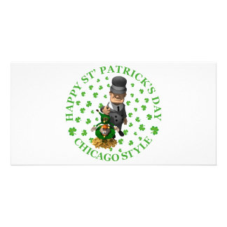 HAPPY ST PATRICK'S DAY - CHICAGO STYLE CARD