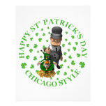 HAPPY ST PATRICK'S DAY - CHICAGO STYLE FULL COLOR FLYER