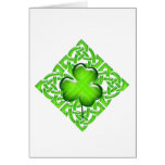 Happy St. Patrick's Day Clover Gift Greeting Cards