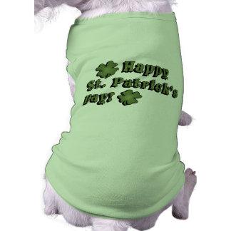 Happy St Patrick's Day Dog Shirt