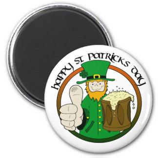 Happy St. Patricks Day Fridge Magnets