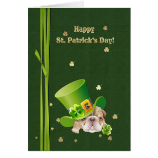 Happy St. Patrick's Day Fun Greeting Cards