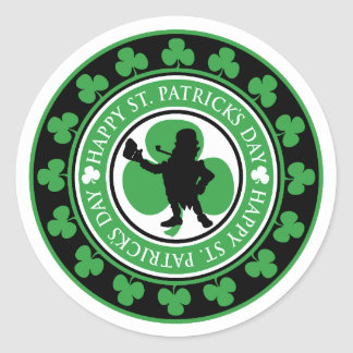 Happy St. Patrick's Day Gift Stickers
