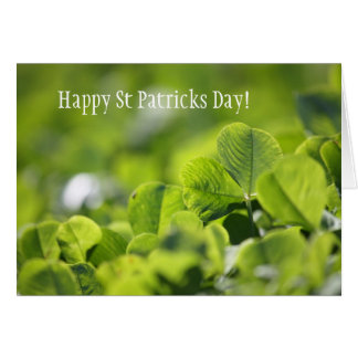 Happy St Patricks Day! Greeting Card