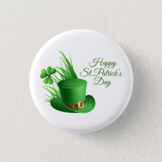 Happy St. Patrick's Day Greetings Pinback Button
