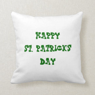 Happy St. Patrick's Day/ Happy Easter Reversible Throw Pillow