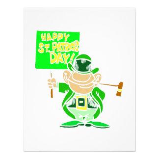 Happy ST Patrick's Day Custom Invitations