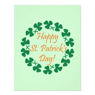 Happy St. Patrick's Day Personalized Announcements