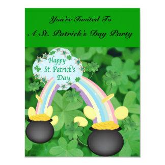 Happy St. Patrick's Day Invitation Cards
