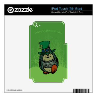 Happy st. Patrick's Day! iPod Touch 4G Skins