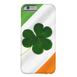 Happy St. Patrick's Day Irish Flag Shamrock Clover Barely There iPhone 6 Case