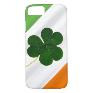 Happy St. Patrick's Day Irish Flag Shamrock Clover iPhone 8/7 Case