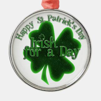 Happy St Patrick's Day - Irish For A Day Ornament