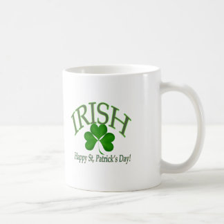 Happy St' Patrick's Day Irish Lucky Clover Gifts Coffee Mug