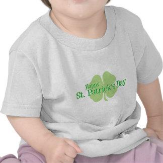 Happy St. Patrick's Day (Irish Shamrock) T Shirts