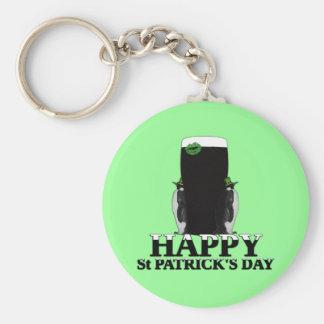 Happy St Patrick's Day Keychains
