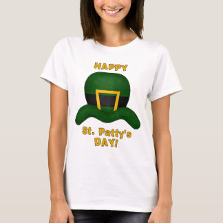 Happy St. Patrick's Day Ladies Baby Doll Shirt
