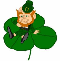 Happy St. Patrick's Day Leprechaun Statuette