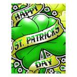 Happy St Patricks Day Letterhead